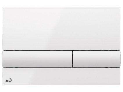 Alcaplast M1710 ovládací tlačítko bílé