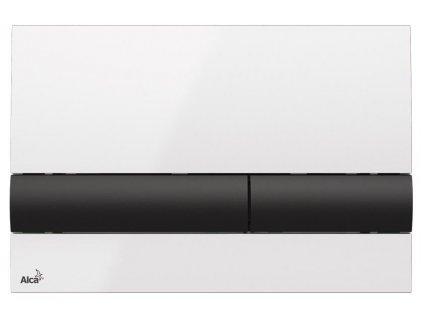 Alcaplast M1710-8 ovládací tlačítko bílé / černé