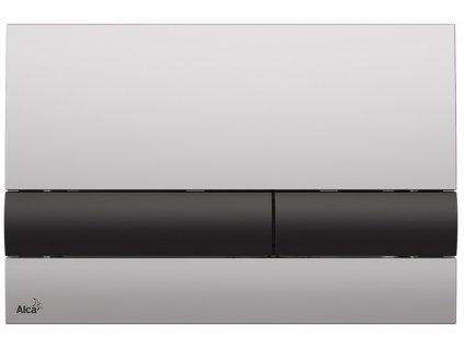 Alcaplast M1712-8 ovládací tlačítko chrom mat / černé