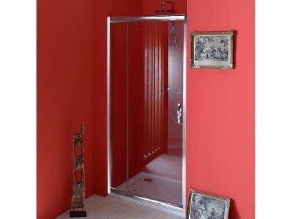 Gelco Sigma SG1296 sprchové dveře do niky 89 - 103 x 190 cm otočné čiré sklo