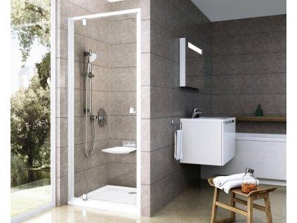 Ravak PDOP1 - 90 x 190 cm sprchové dveře jednodílné