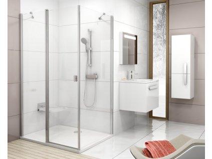Ravak CPS - 100 x 195 cm pevná stěna jednodílná sklo