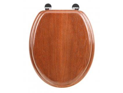 Aqualine 1705-12 WC sedátko HDF třešeň