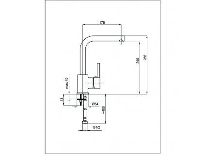 Olsen Spa ES 2 35 × 565 × 475 mm OLBES2ON elektrický sušák otočný nerez