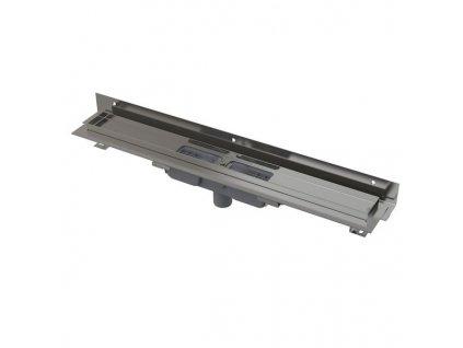 Alcaplast  APZ1104-550 Flexible Low podlahový žlab s nastavitelným límcem ke stěně