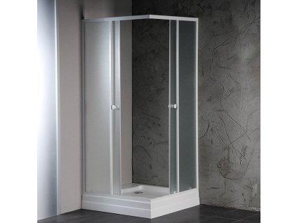 Aqualine Alain BTQ700 sprchový kout 70 x 70 cm čtvercový
