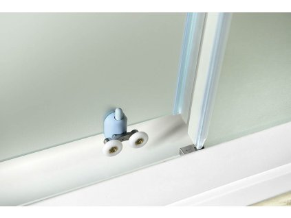 Aqualine Amadeo 100 cm sprchové dveře sklo BRICK BTS100