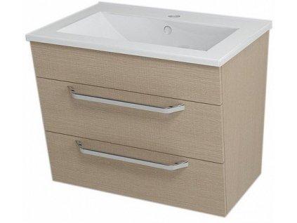 Sapho Kali 56065 umyvadlová skříňka 59 x 50 x 46 cm dub benátský