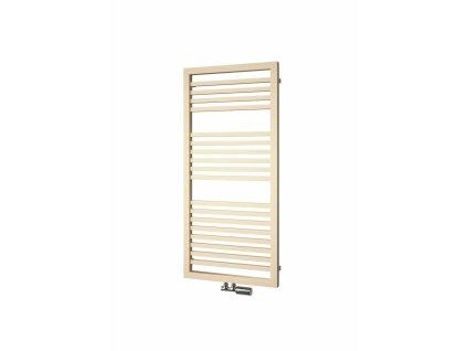 Isan Quadrat Plus 1245 x 600 mm koupelnový radiátor bílý
