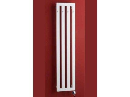 PMH Darius s háčky 326 x 1500 mm DAH5W koupelnový radiátor bílá