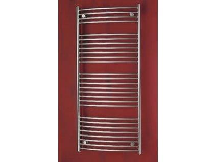 PMH Blenheim 450 x 1290 mm B4MS koupelnový radiátor metalická stříbrná