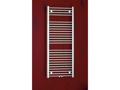 PMH Savoy 480 x 1210 mm S4MS-M koupelnový radiátor metalická stříbrná