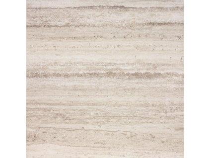 Rako Alba DAP63732 dlažba 60 x 60 cm slinutá lapovaná hnědo-šedá