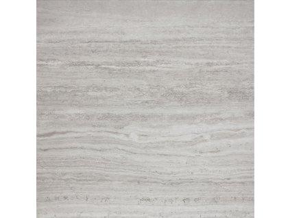 Rako Alba DAP63733 dlažba 60 x 60 cm slinutá lapovaná šedá