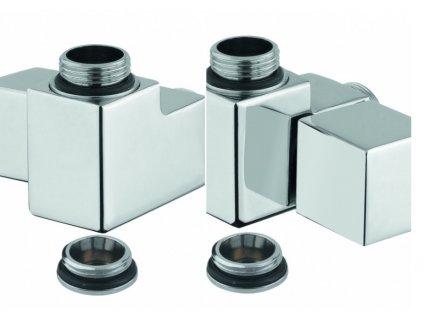 PMH Cube-Com ventil chrom
