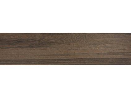 Rako Board DAKVF144 dlažba 30 x 120 cm slinutá tmavě hnědá