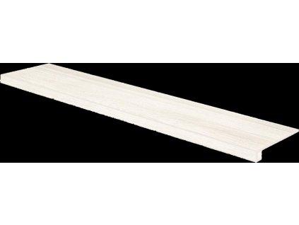 Rako Board DCFVF140 schodová tvarovka 30 x 120 cm světle šedá