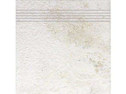 Rako Como DCP3B692 schodovka 33 x 33 cm bílá
