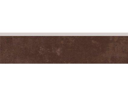 Rako Concept DSAL3601 sokl 8 x 33 cm hnědá