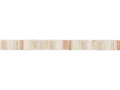 Rako Garda GLLJV100 listela 2,5  x 30 cm béžová