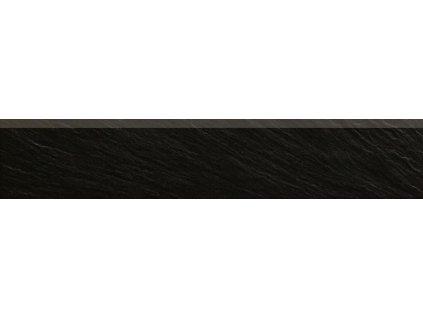 Rako Geo DSAPM314 sokl 8,5 x 45 cm černá
