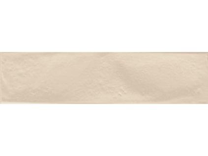 Rako Mano DARJ9561 inzerto 7,5 x 30 cm světle béžová
