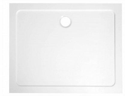 Aqualine Tecmi 100 x 70 x 3 cm PQ10070 sprchová vanička litý mramor
