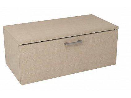 Sapho Makala ML099 skříňka s vrchní deskou 89,5 x 35 x 45,2 cm dub benátský