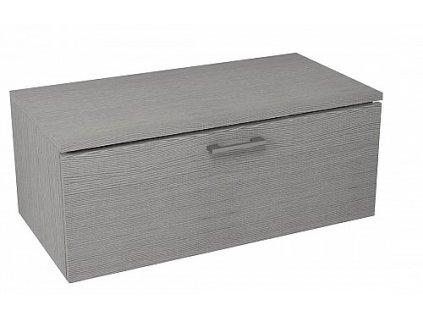 Sapho Makala ML096 skříňka s vrchní deskou 89,5 x 35 x 45,2 cm dub stříbrný