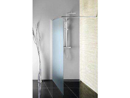 Aqualine Walk-in WI100 zástěna jednodílná 100 x 190 cm