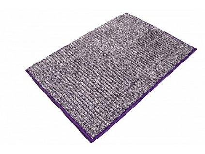 Aqualine 7021313 předložka 50 x 70 cm s protiskluzem fialová