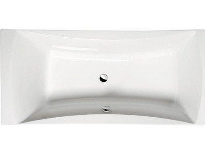 Polysan Alia 180 x 80 x 45 cm vana obdelníková akrylátová 34119