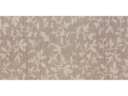 Rako Textile WADMB113 obklad 20 x 40 cm hnědá