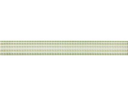 Rako Vanity WLAMH014 listela 4,5 x 40 cm zelená