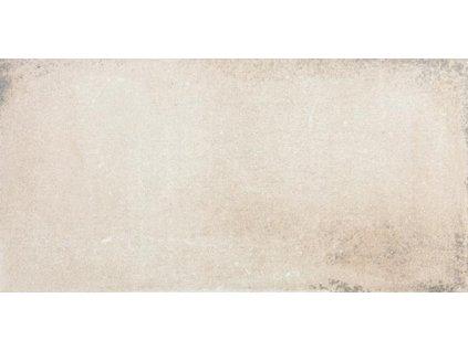 Rako Via DARJH710 dlažba 15 x 30 cm slinutá světle béžová