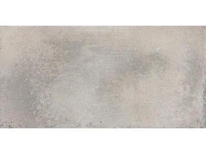 Rako Via DARJH711 dlažba 15 x 30 cm slinutá šedá