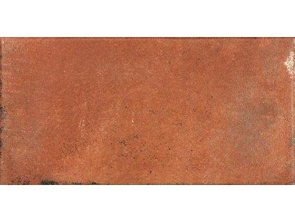 Rako Via DARJH712 dlažba 15 x 30 cm slinutá červenohnědá