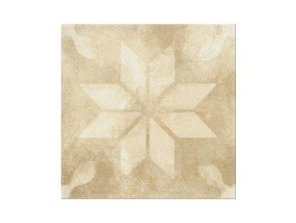 Opoczno Basic Palette beige pattern b dlažba 30 x 30 cm béžová