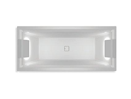 Riho Still Square Led LR BR0100500K00132 180 x 80 cm vana akrylátová obdélníková
