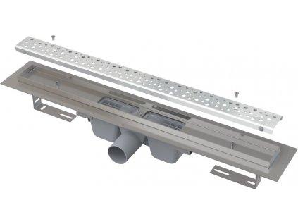 Alcaplast APZ11-1150L Antivandal liniový podlahový žlab