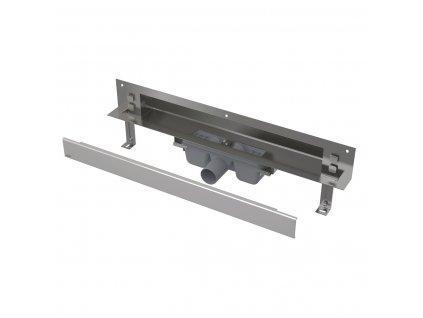 Alcaplast APZ5-TWIN-650 SPA odtokový systém pro zabudování do stěny s roštem