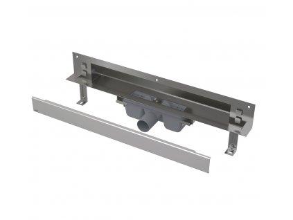 Alcaplast APZ5-EDEN-750 SPA odtokový systém pro zabudování do stěny s roštem
