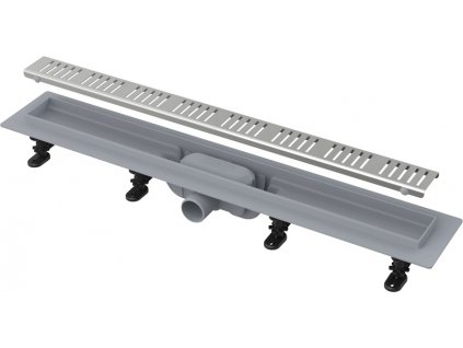 Alcaplast APZ10-650M Simple liniový podlahový žlab s roštem