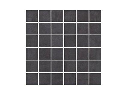 Opoczno Fargo Black Mosaic 30 x 30 cm černá
