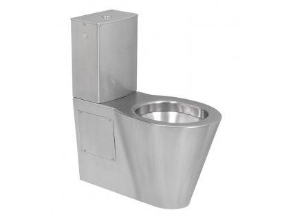 Sanela SLWN 15 nerezové kombi WC