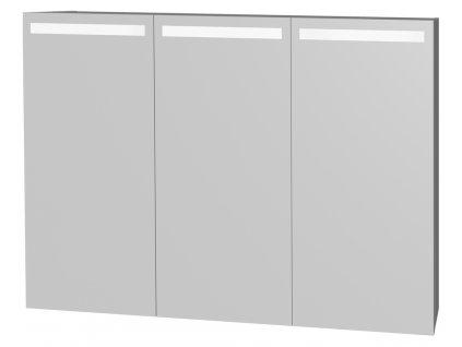 Intedoor D ZS 120 01 zrcadlová stěna s LED osvětlením ve dvířkách 120 cm