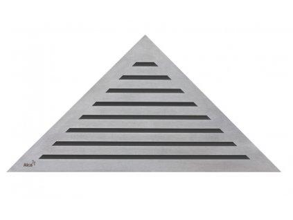 Alcaplast LIFE rošt pro rohový podlahový žlab nerez kartáčovaný mat