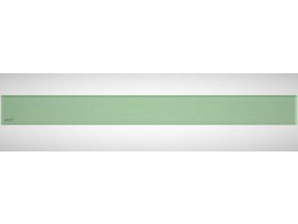 Alcaplast GLASS GL1202-750 rošt pro liniový podlahový žlab sklo - zelená