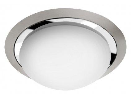 Sapho Metuje AU467 stropní LED svítidlo pr.28,5 cm chrom/broušený chrom