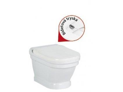 Creavit Antik AN320 závěsné WC + bidet 2v1